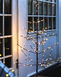 Sirius LED-Lichterbäume Alex Tree Snowy warmweiße LED